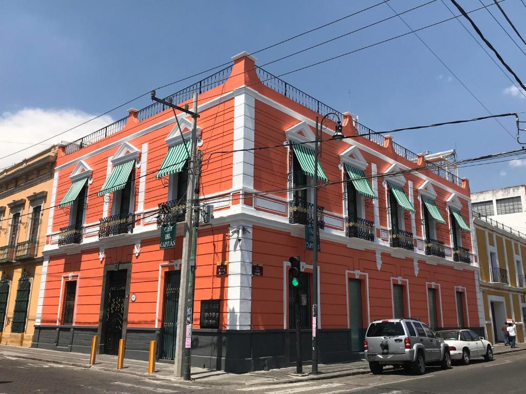 Отель Hotel del Capitán de Puebla, Пуэбла