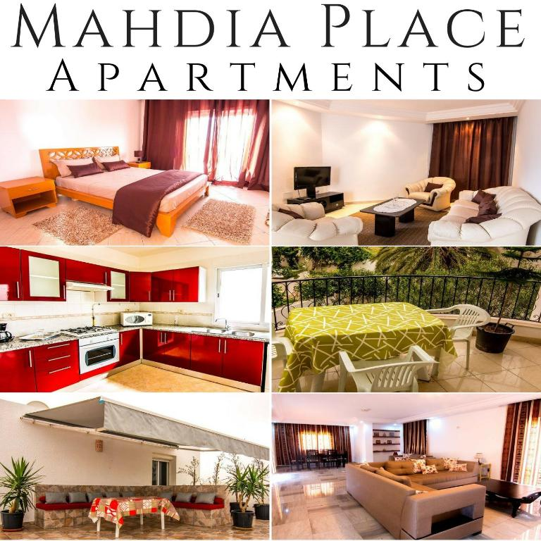Апартаменты Mahdia Place Apartments, Махдия
