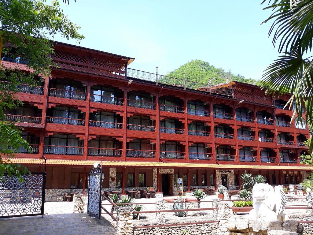Отель Гриффон, Новый Афон, Абхазия