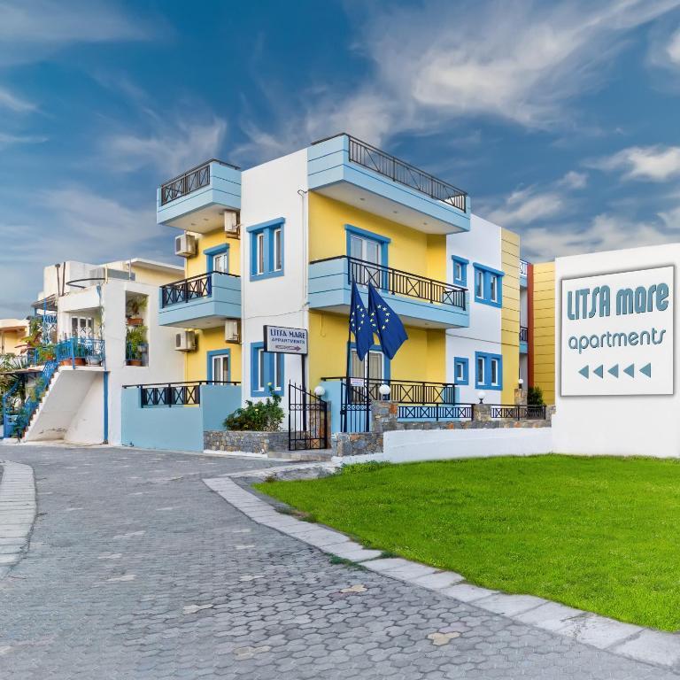 Апарт-отель Litsa Mare Apartments, Агия-Пелагия