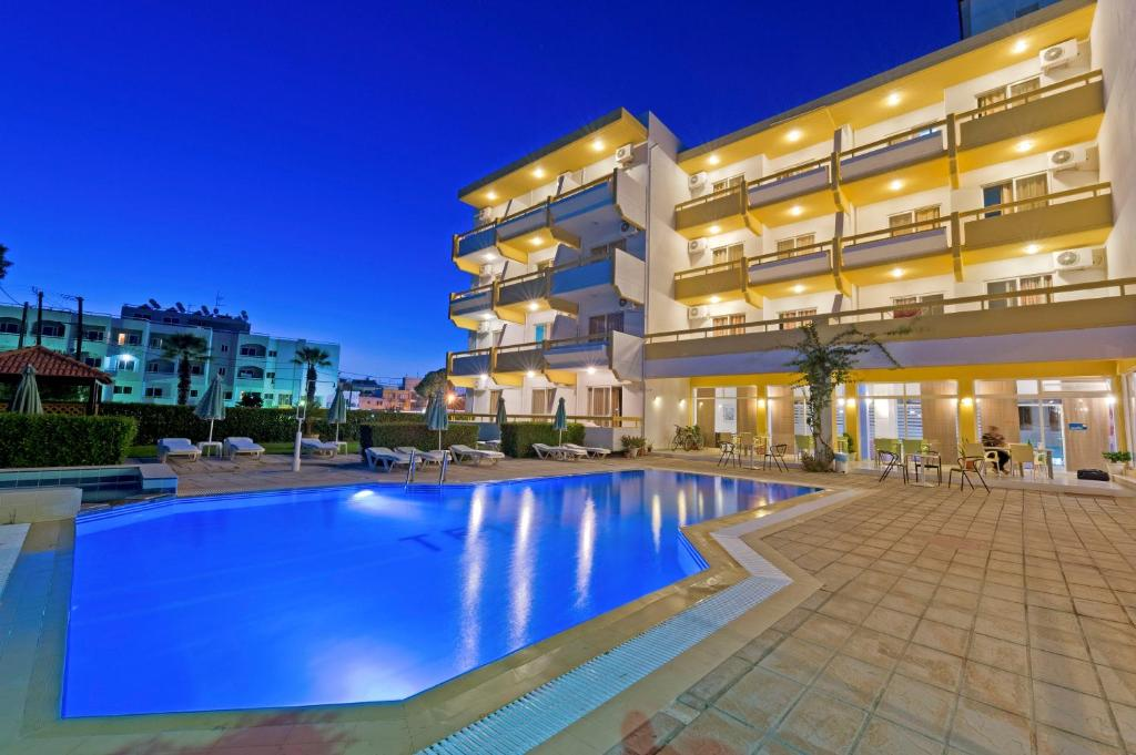 Апарт-отель Trianta Hotel Apartments, Ялиссос