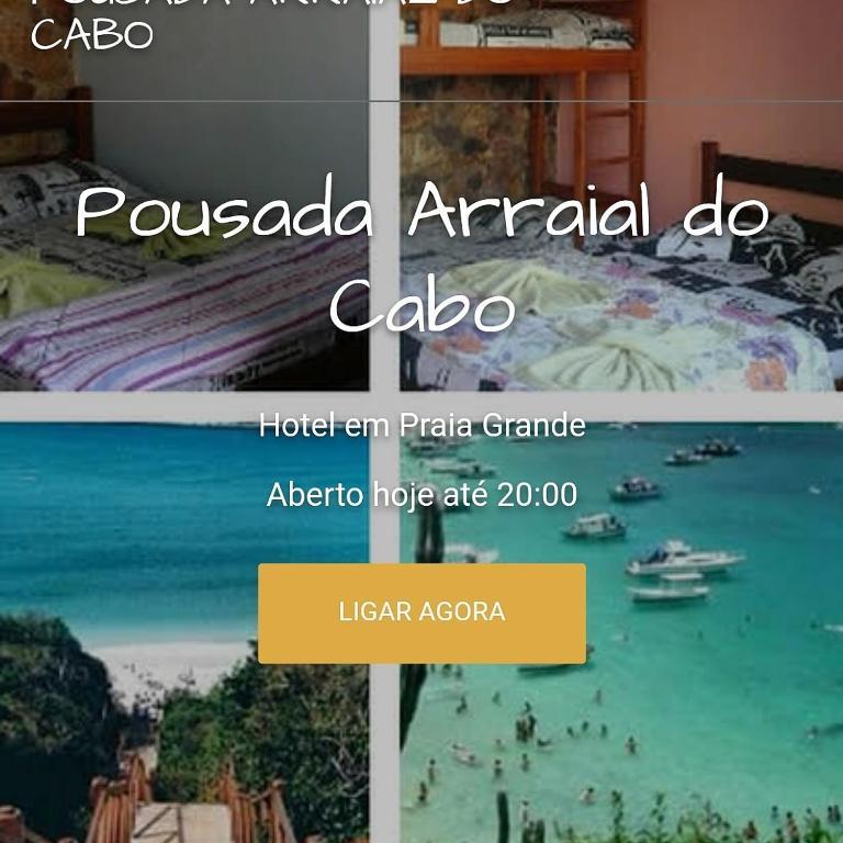 Гостевой дом Pousada Arraial do Cabo, Арраял-ду-Кабу