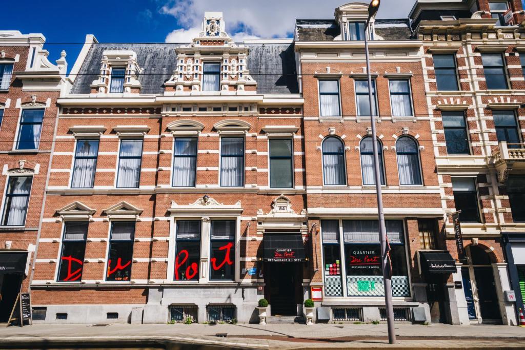 Restaurant & Hotel Quartier Du Port, Роттердам, Нидерланды