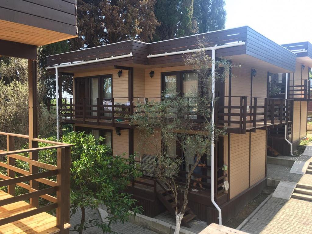 Отель Eco village, Новый Афон, Абхазия