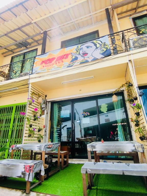 Хостел Pop Art Hostel Bangkok, Бангкок