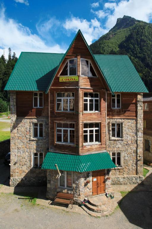 Отель Сокол, Домбай