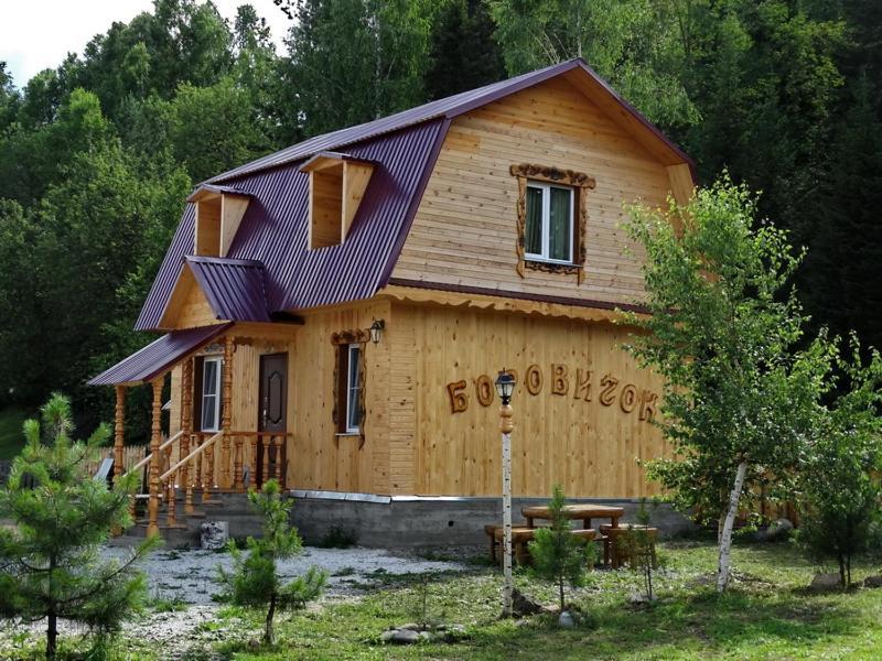 Двухместный (Стандартный двухместный номер с 1 кроватью и общей ванной комнатой) усадьбы Лебедь