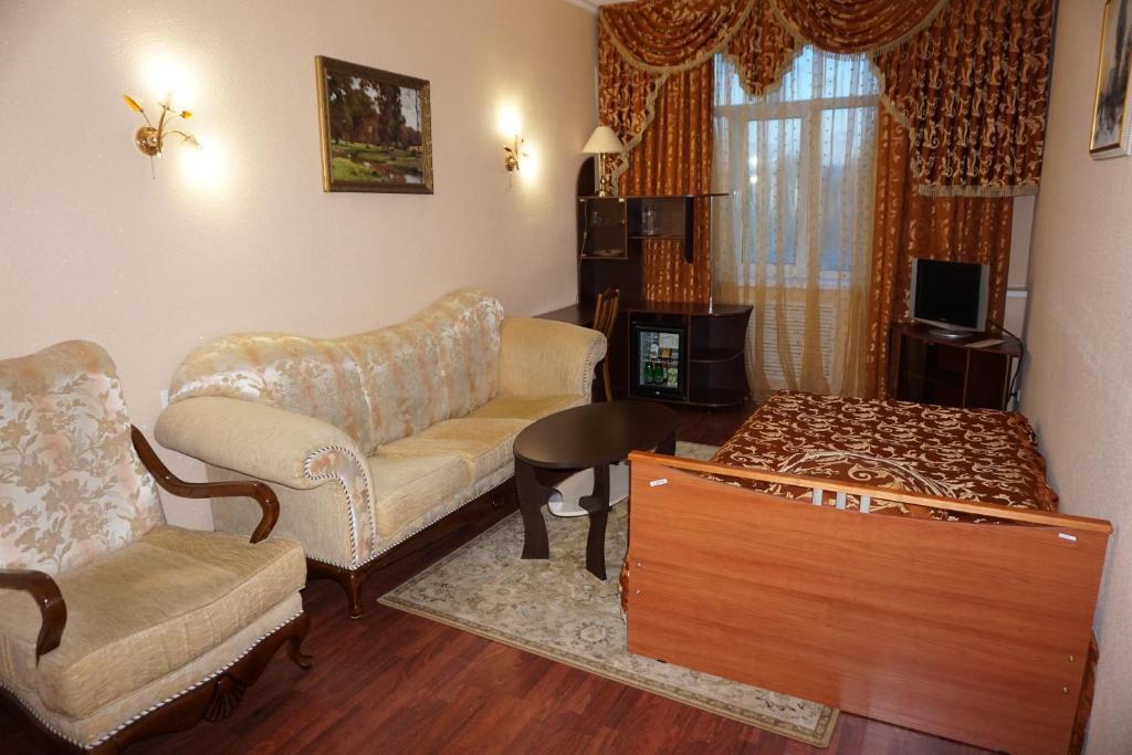 Двухместный (Двухместный номер Делюкс с 1 кроватью) мини-гостиницы Мини-отель Зодиак