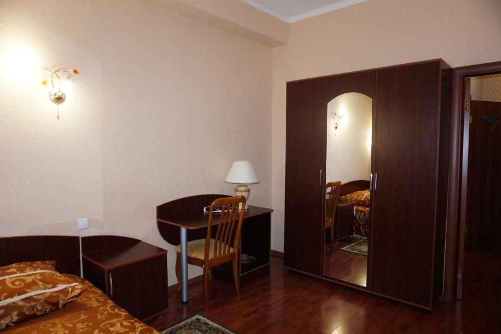 Двухместный (Двухместный номер с 1 кроватью) мини-гостиницы Мини-отель Зодиак