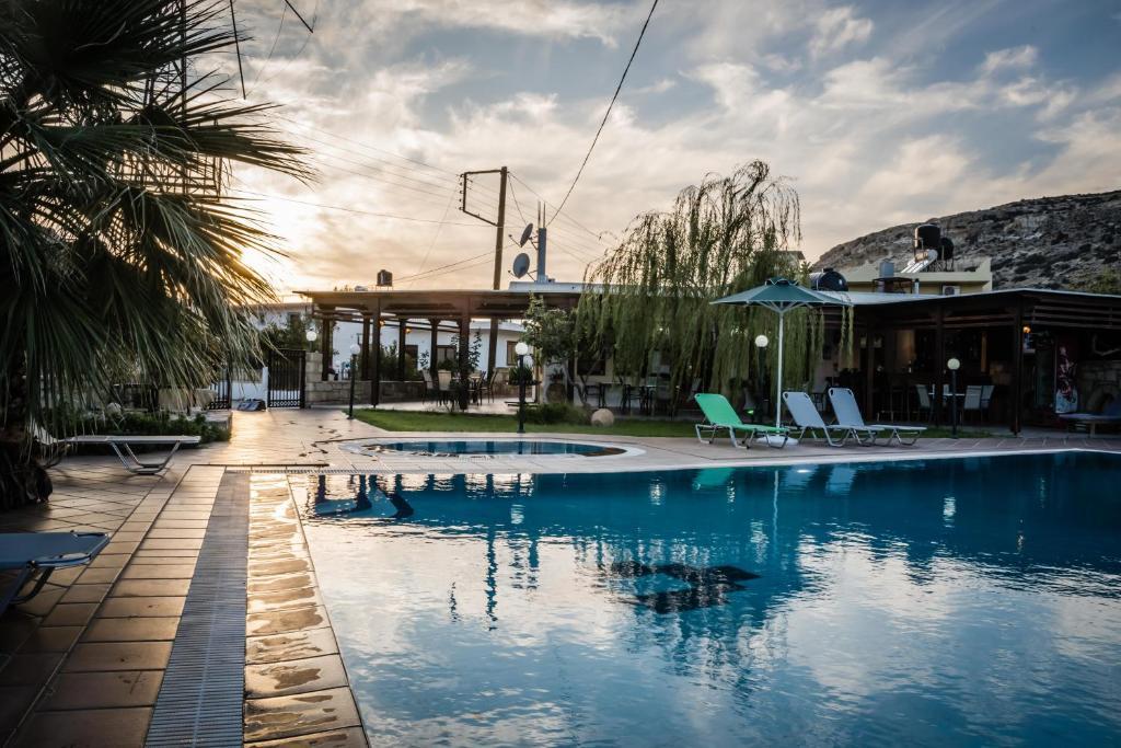 Отель Dimitris Villa Hotel, Матала