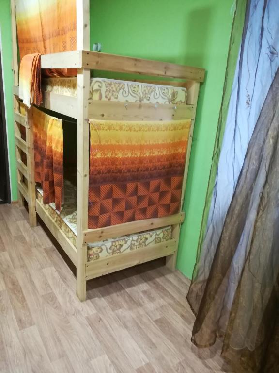 Номер (Односпальная кровать в общем номере) хостела Аметьево, Казань
