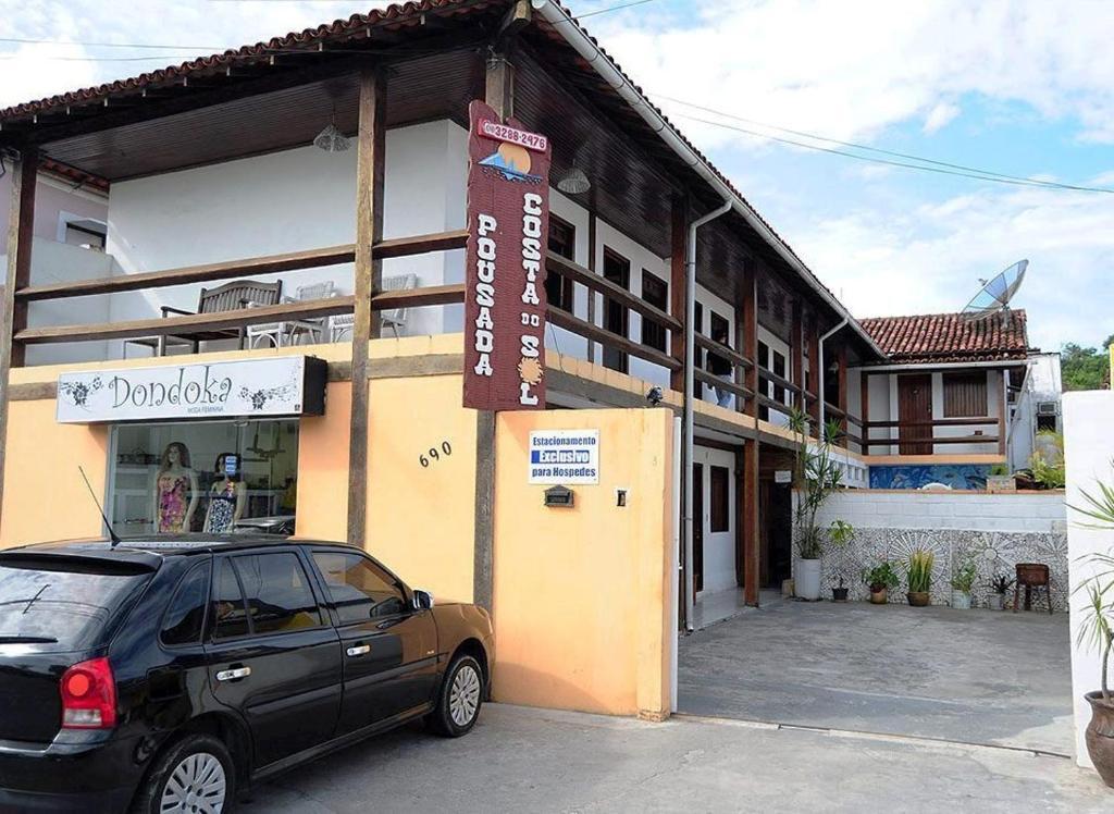 Гостевой дом Pousada Costa do Sol, Порту-Сегуру