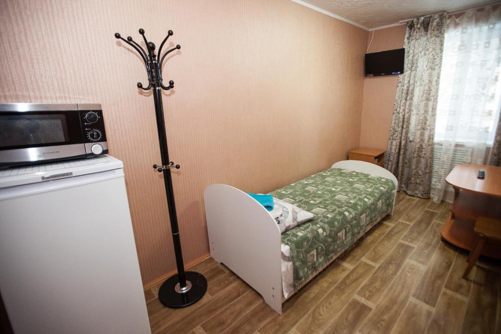 Одноместный (Бюджетный одноместный номер) гостиницы Турист
