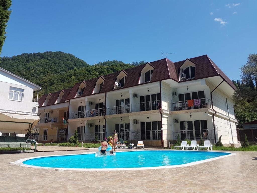Гостиничный комплекс Царская аллея, Новый Афон, Абхазия