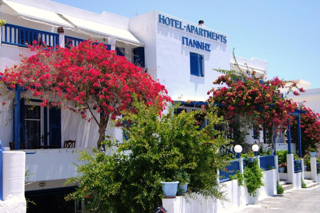 Отель Giannis Hotel Apartments, Адамас