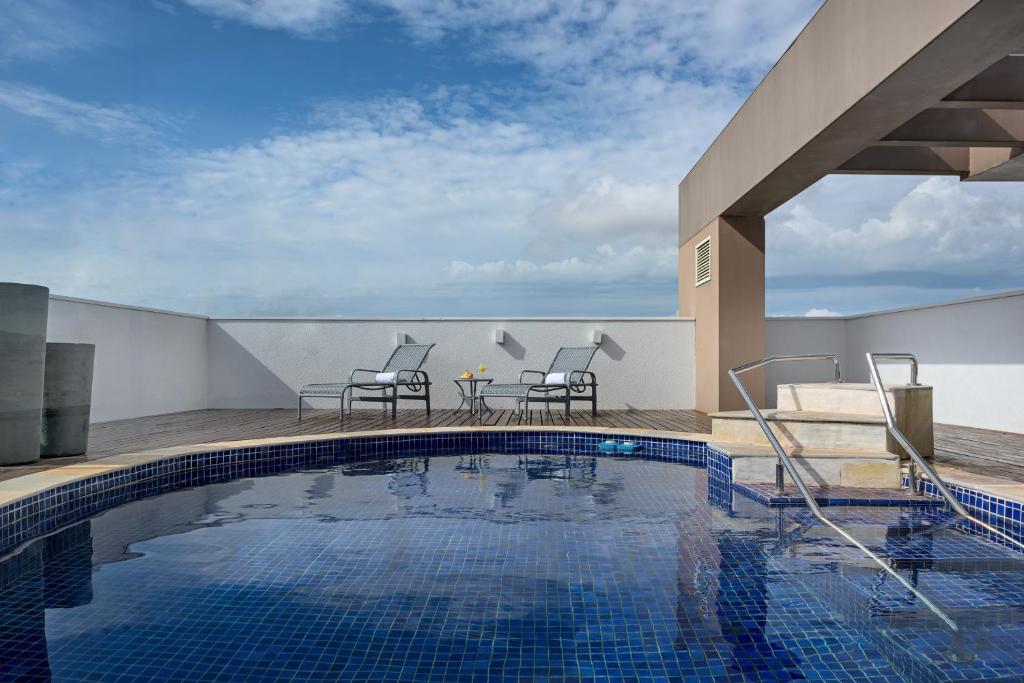 Отель Arco Hotel Ribeirão Preto Maurílio Biagi, Рибейран-Прету