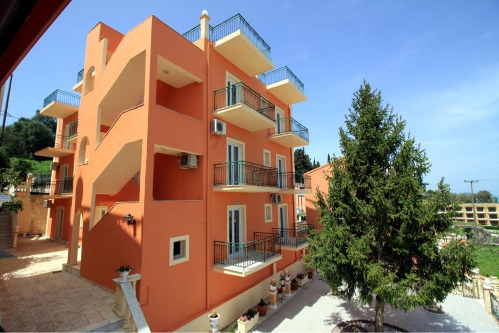 Апартаменты Corfu Sunflower Apartments, Бенитсес