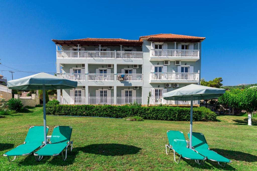 Апартаменты Ionian View Apartments & Studios, Амуди