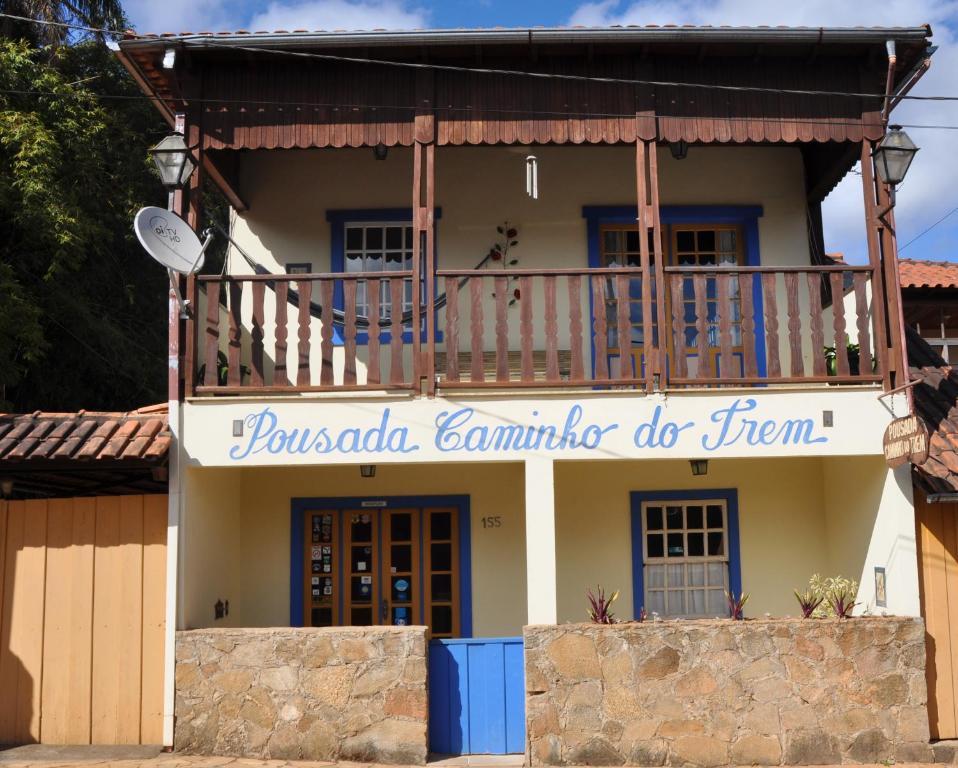 Гостевой дом Pousada Caminho do Trem, Тирадентис