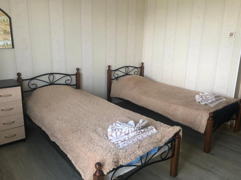 Двухместный (Двухместный номер с 2 отдельными кроватями) гостевого дома Созвездие Байкала