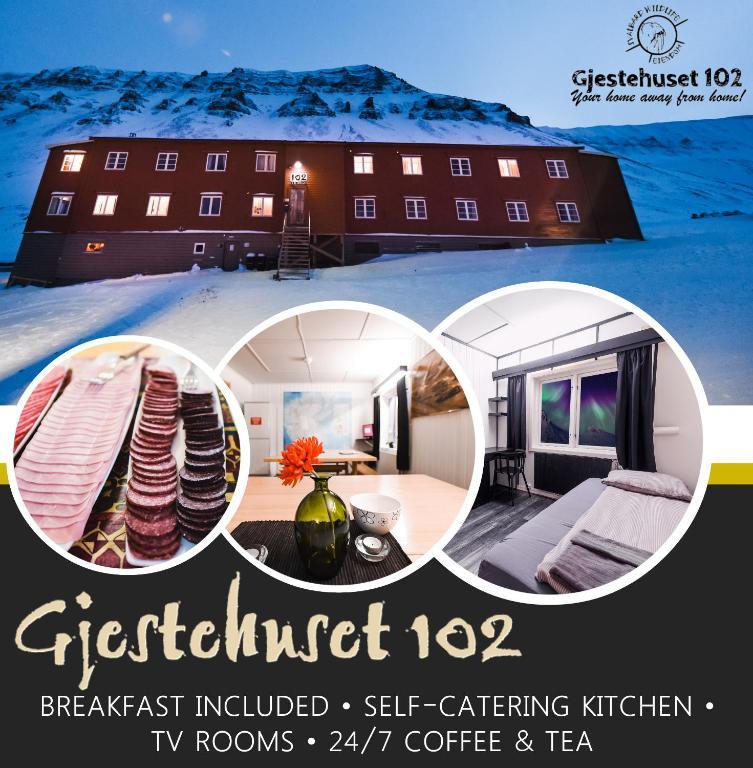 Gjestehuset 102, Лонгйир, Норвегия