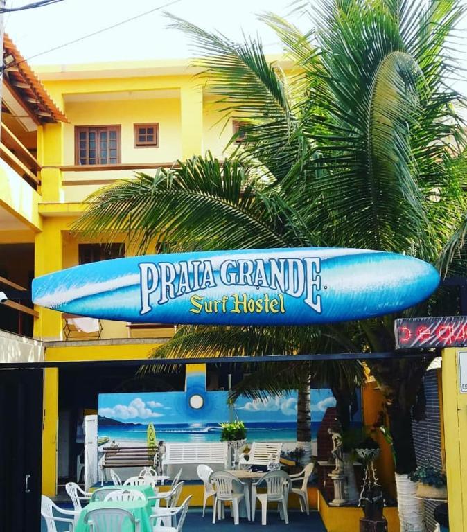 Хостел Praia Grande Surf Hostel, Арраял-ду-Кабу