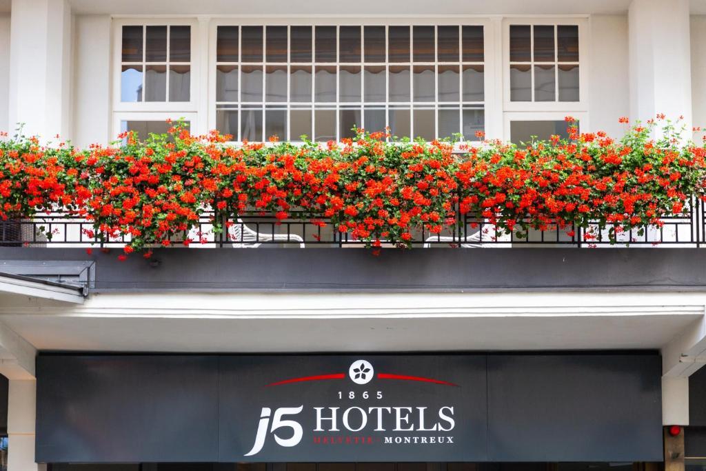 Hotel Helvetie, Монтрё