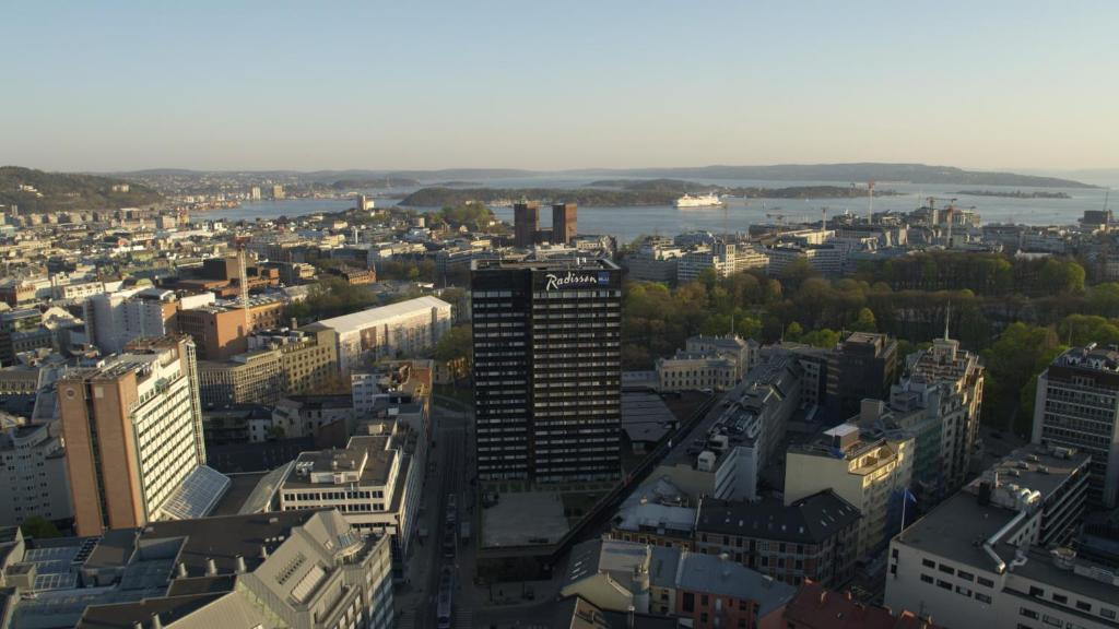 Radisson Blu Scandinavia Hotel, Oslo, Осло, Норвегия