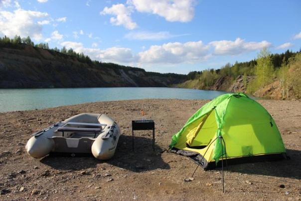 Camping in Aleksandrovsk, Александровск
