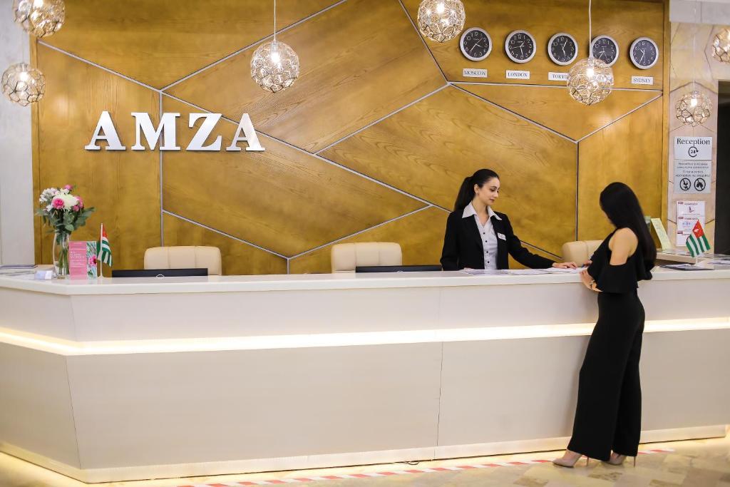 Amza Park Hotel, Гагра