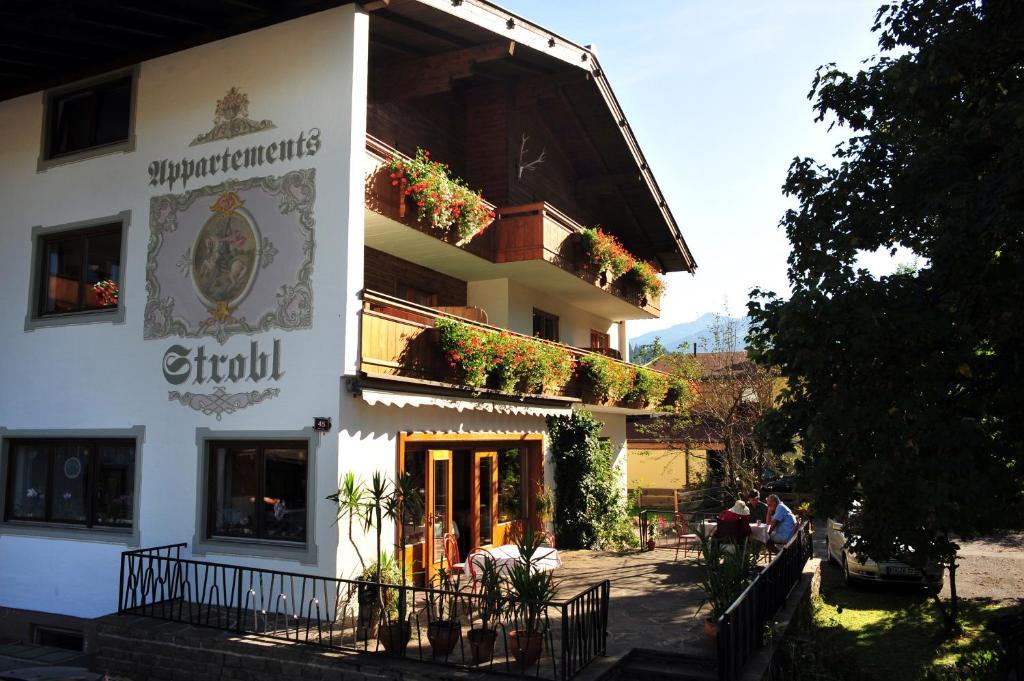 Appartements Strobl, Альпбах, Австрия