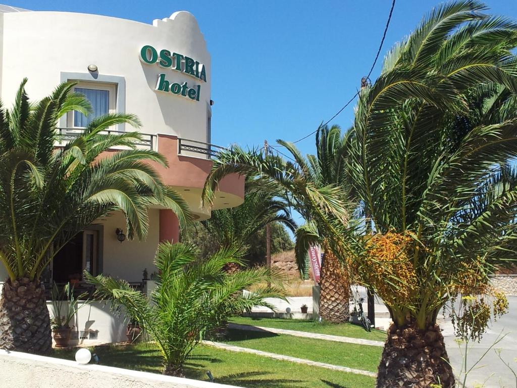 Отель Ostria Hotel, Палекастро