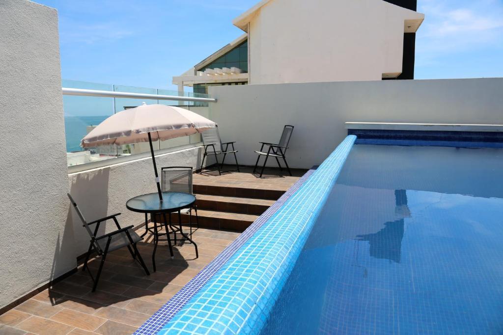 Отель Hotel EMS Real de Boca, Веракрус