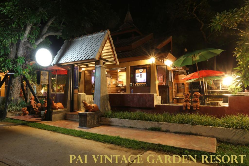 Курортный отель Pai Vintage Garden Resort, Пай