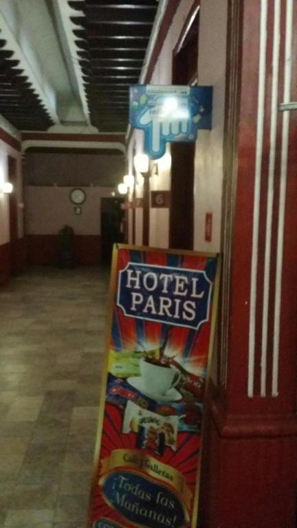 Отель Hotel Paris, Веракрус