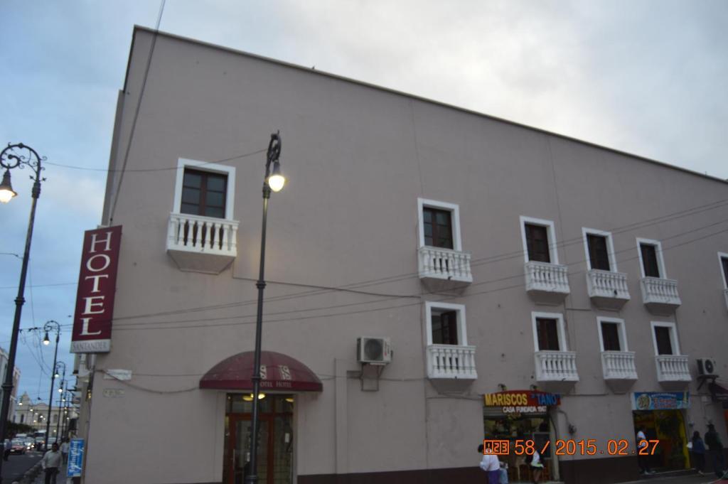 Отель Hotel Santander, Веракрус