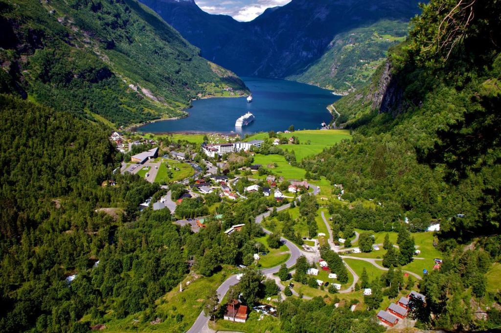 Vinje Camping, Гейрангер, Норвегия