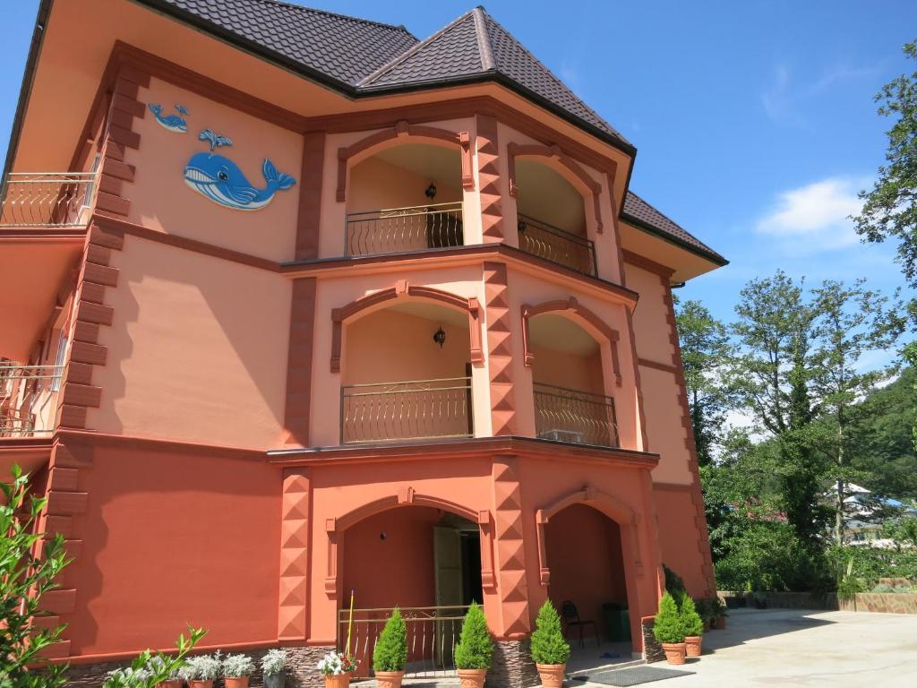 Гостевой дом Добрый кит, Нижняя Хобза