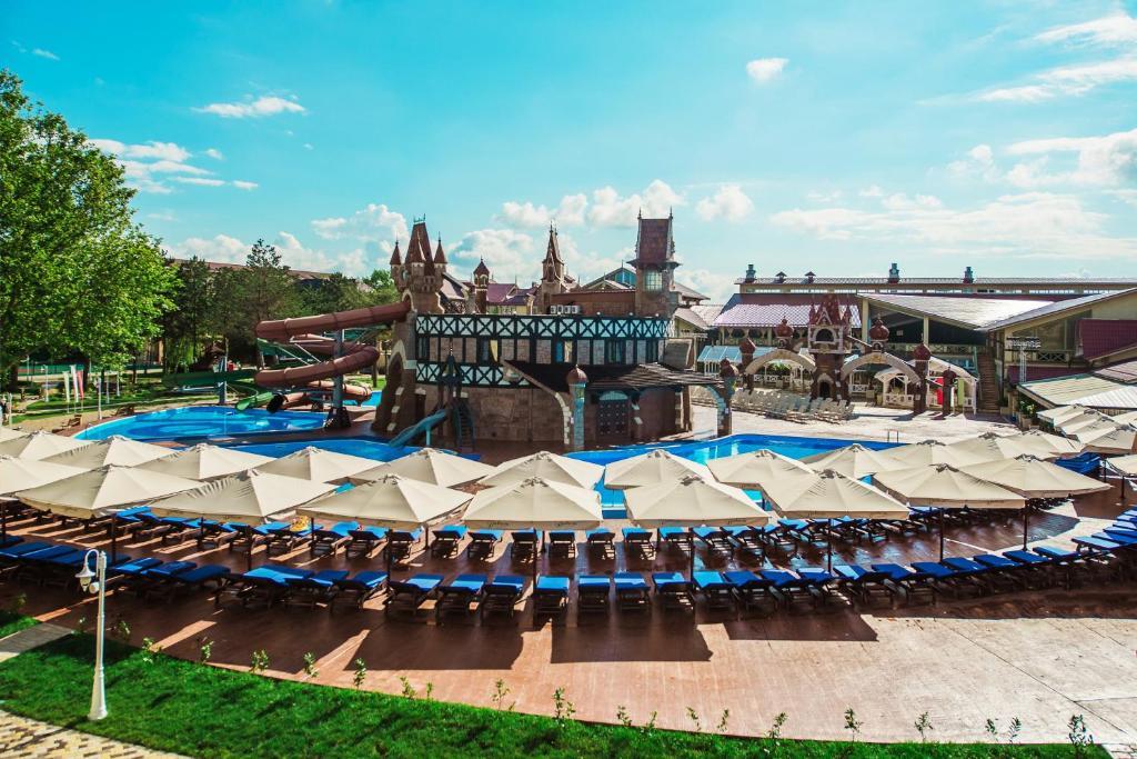 Отель Alean Family Resort & SPA Doville 5* Ultra All Inclusive, Анапа