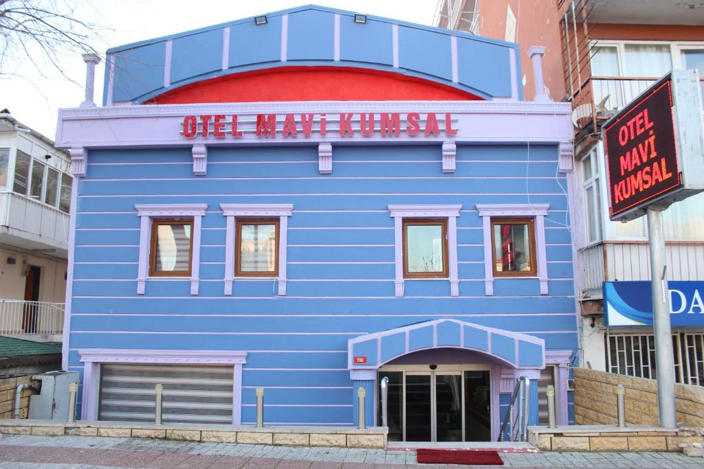 Отель Mavi Kumsal Otel, Кумбургаз