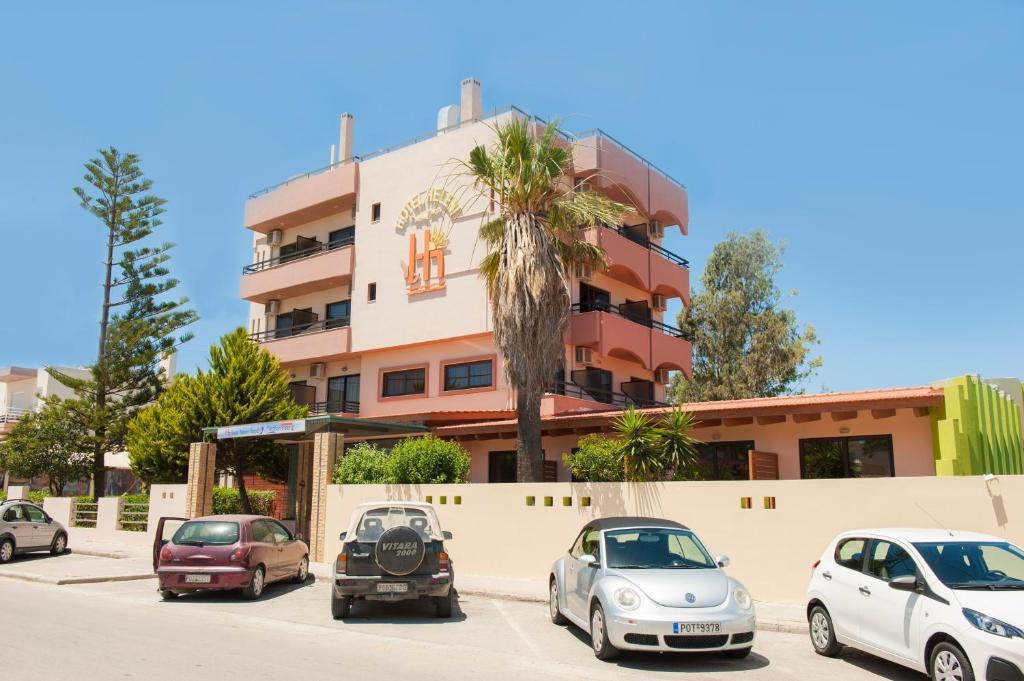 Отель Heleni Beach Hotel, Ялиссос