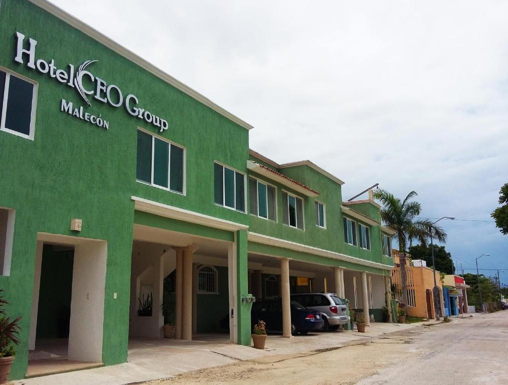 Отель Hotel Malecón, Кампече