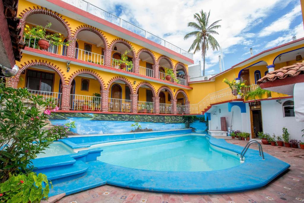 Отель Hotel San Juan, Пуэрто-Эскондидо