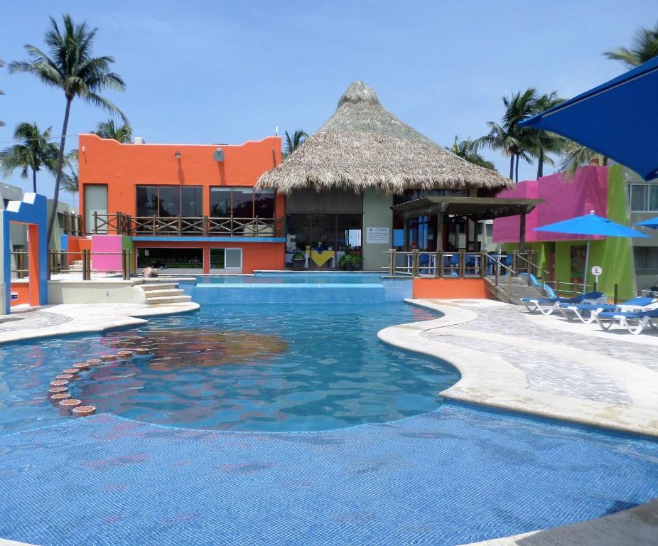 Отель Hotel Suites Mediterraneo Boca del Rio Veracruz, Веракрус