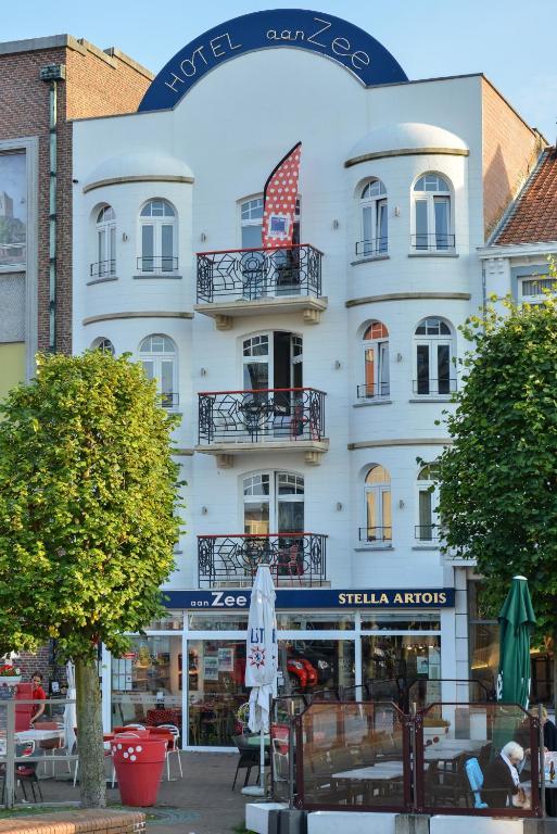 Hotel Aan Zee, Де Панне, Бельгия