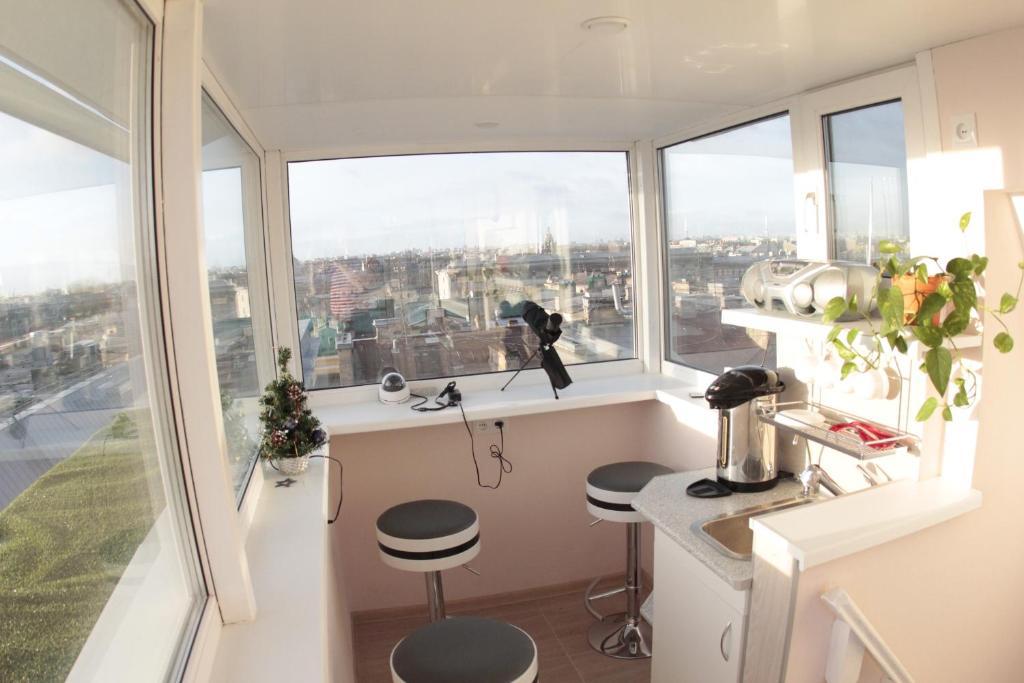 Отели Санкт-Петербурга на крыше