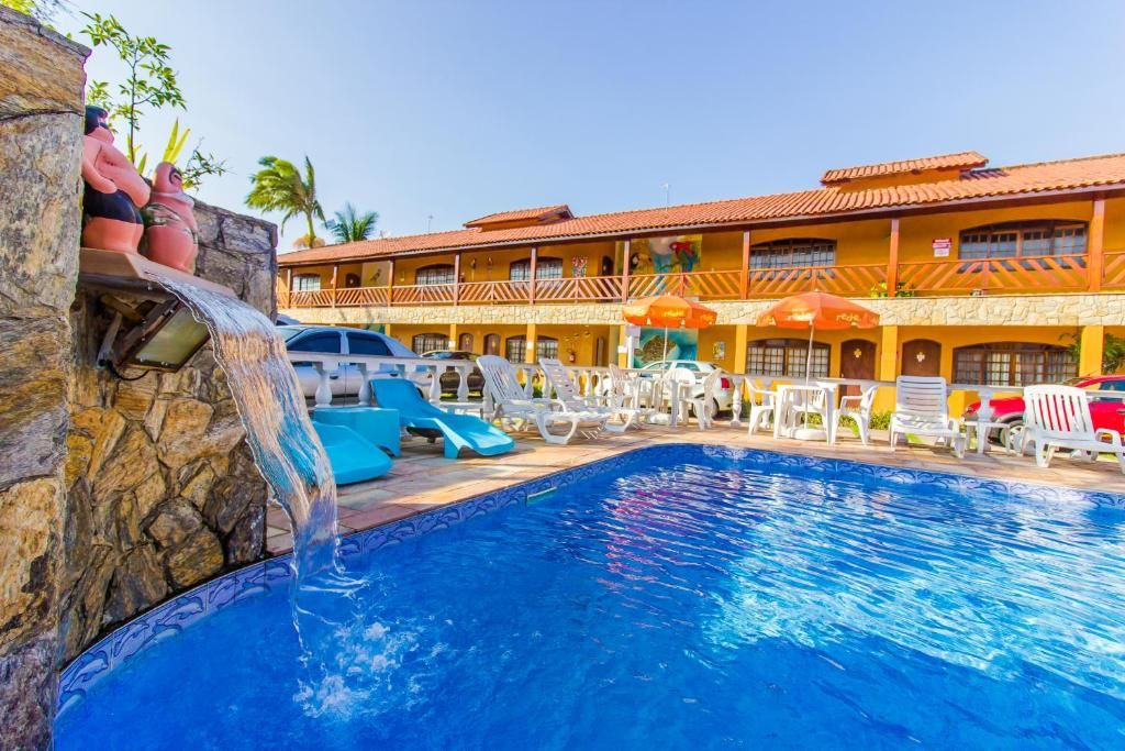 Отель Hotel Pousada Paradise, Карагуататуба