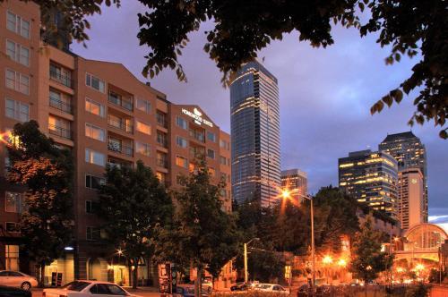 西雅图会展中心派克街希尔顿惠庭套房酒店