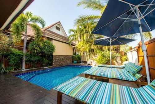 泰国banhuaiyai10家最赞带庭院图片效果栋酒店独泳池别墅大全装修图片