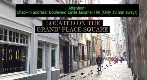 2G04品质旅舍,布鲁塞尔大广场
